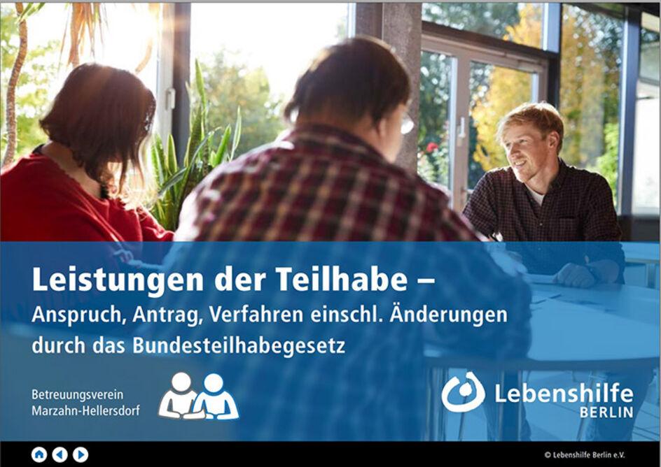 Partnervermittlung - Lebenshilfe Berlin