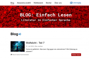 Blog in einfacher Sprache